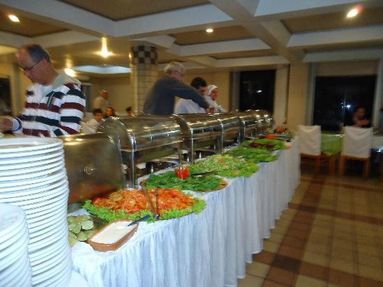 Muffato Plaza Hotel : cena