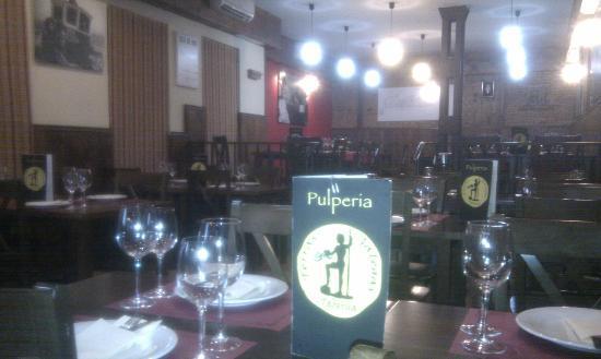 Taberna Terras Galegas: El restaurante