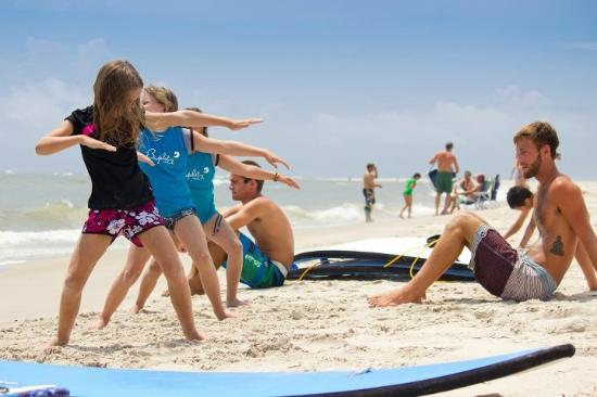 The Sail Shop Tours: Surf Lesson on East Beach with Tommy