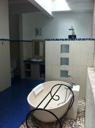 Artemis Villa and Hotel: Outside bathroom