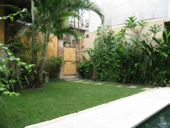 Jimbaran Bay Beach Residence: The garden