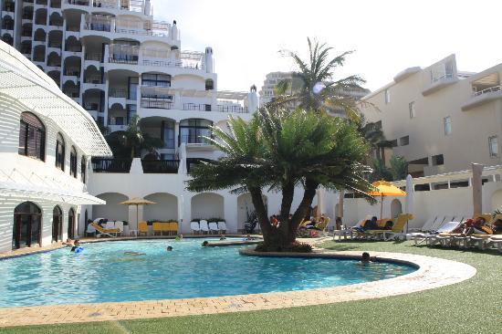 Cabana Beach Resort Poolside View