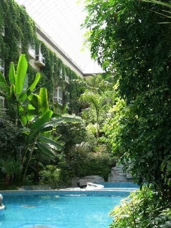 Paradise Hotel: Atrium