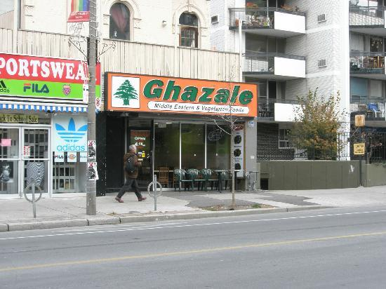 Photo of Middle Eastern Restaurant Ghazale - Church & Wellesley at 78 Wellesley St. E., Toronto, Canada