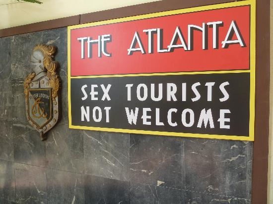 """Atlanta Hotel: """"Sex tourists not welcome"""""""