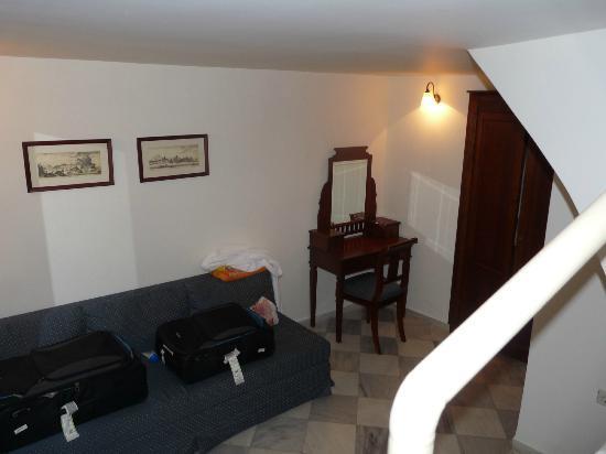 Casa Delfino Hotel & Spa: Sous-sol de la chambre no 1