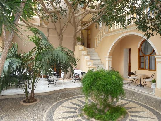 Casa Delfino Hotel & Spa: Terrasse du pdj (vue de la chambre)