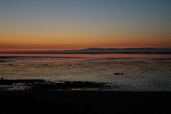 The Craigwell: One of many free sunset views over Morecambe bay