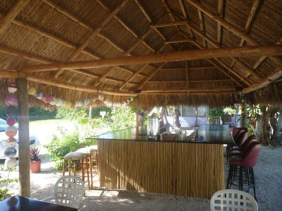 Tropical Cottages: Tiki Bar