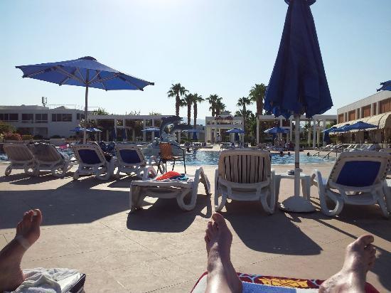 Maritim Jolie Ville Resort & Casino Sharm El-Sheikh: Pool area