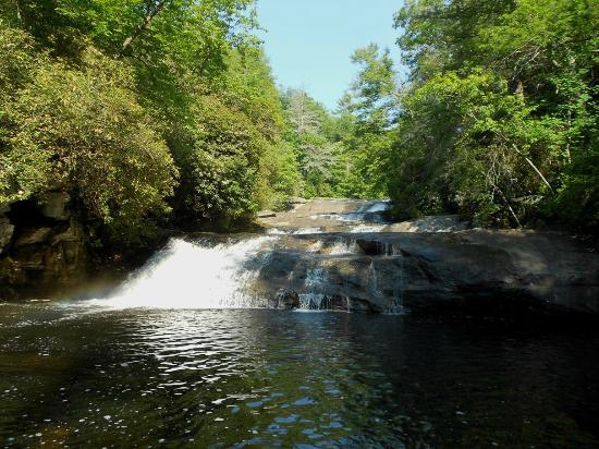 Horsepasture River and Nature Trails: Stairway Falls
