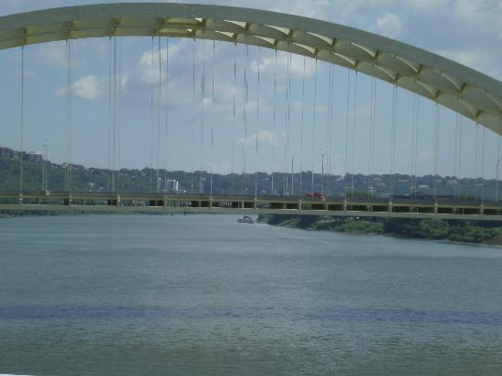 Roebling Suspension Bridge: View
