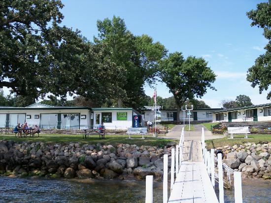 Inn at Okoboji: View from the boat dock