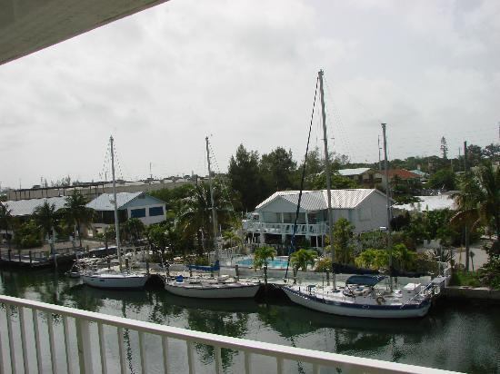Sombrero Resort & Marina: Our view from our front window