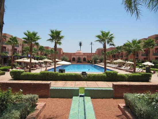 la grande piscine picture of hotel les jardins de l 39 agdal marrakech tripadvisor. Black Bedroom Furniture Sets. Home Design Ideas