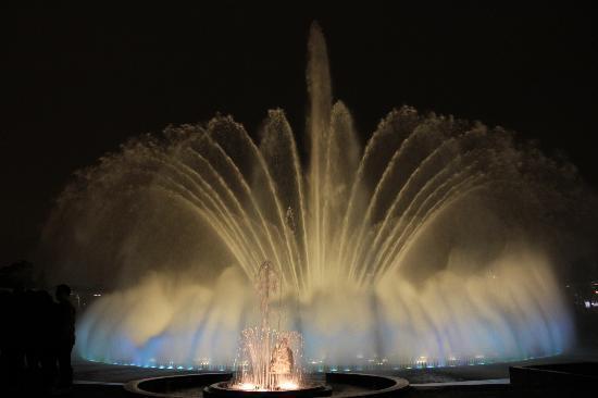 Parque de la Reserva: Circuito mágico del agua