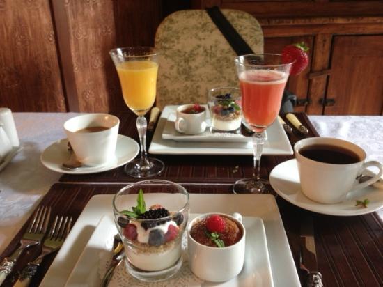 Le Plumard: dejeuner