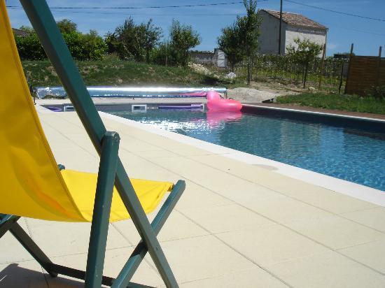 Hamac et Macarons : la piscine 6X12m