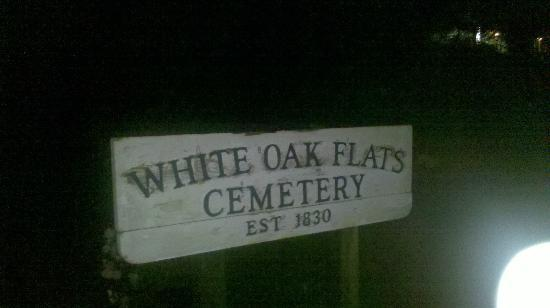 Ghost and Haunt Tours of Gatlinburg : Cemetery Sign Pic