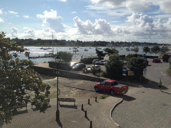 Royal Southern Yacht Club: View from room 11