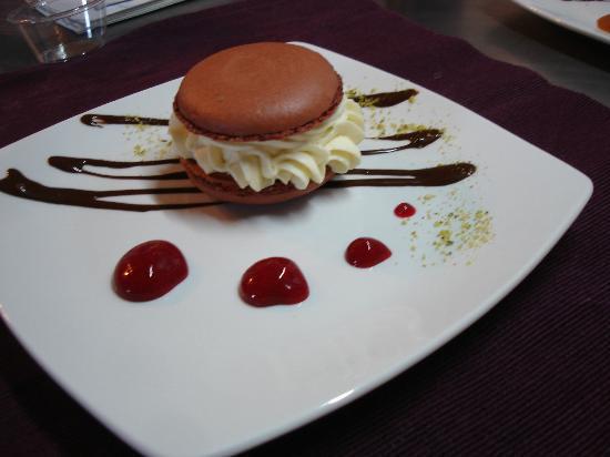 Hamac et Macarons : le dessert