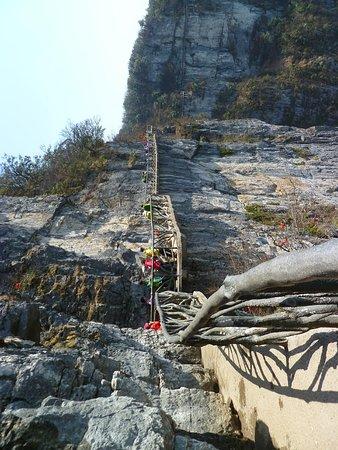 Wulingyuan Scenic and Historic Interest Area of Zhangjiajie: Plank road