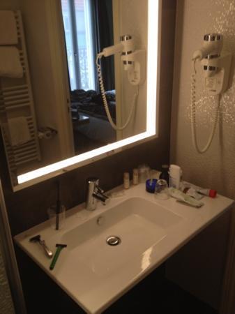 Grand Hotel Malher: badrummet