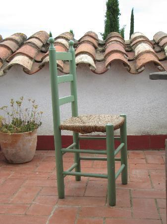 La Pepa Maca: Terraza de habitación