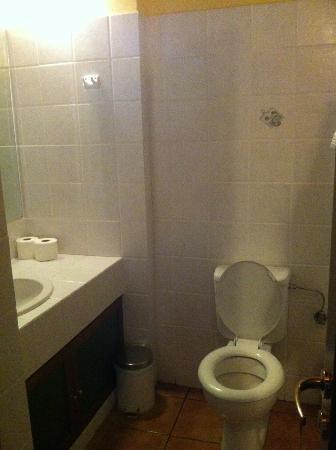 Villa Rosa: Toilet & sink