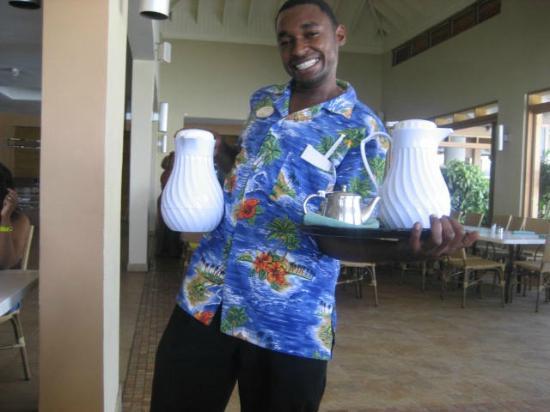 Sunscape Splash Montego Bay : Damon (the Waiter)