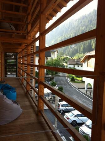 Santa Cristina Valgardena, Italia: vista dal balcone