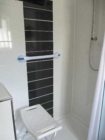 Oak Lodge Bed and Breakfast: Disabled friendly Shower Room