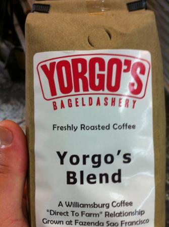 Yorgo's Bageldashery: Good Coffee