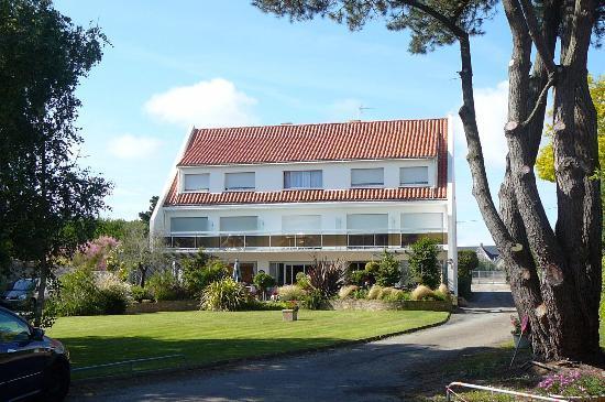 Hotel Restaurant des Sablons : Vue de l'hôtel