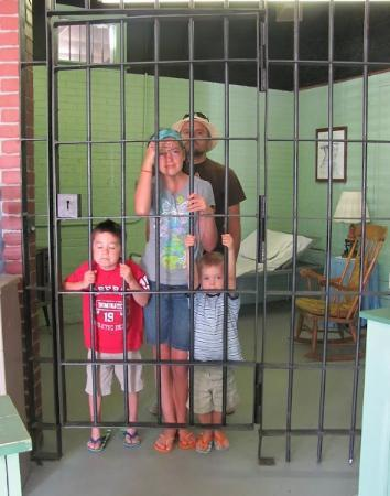 The Andy Griffith Museum: Jailtime