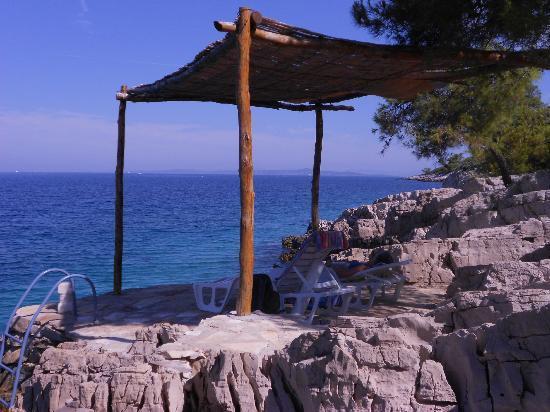 Villa Jagodna: Sun Bathing/Swimming Area