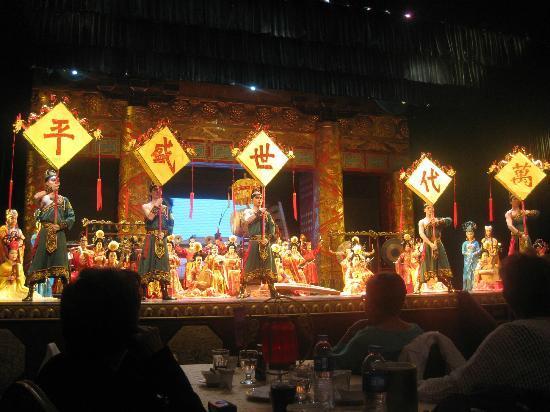 Tang GeWu He JiaoZi Yan: Tang Dynasty Dinner Show performing Chang'an music & dance