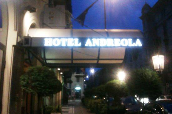 Andreola Hotel: Front of the hotel