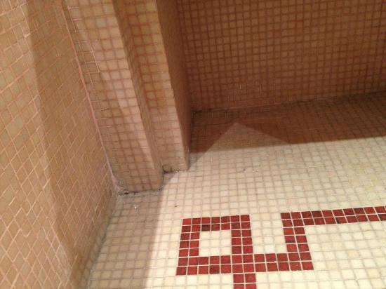 Atlas Medina & Spa: 5 stars dirty bathroom floor