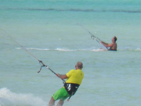 Zanzibar Kite Paradise: het strand