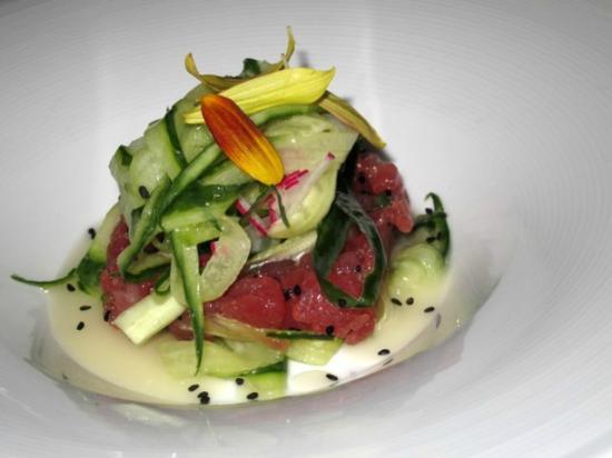 Firestone's Culinary Tavern: Tuna Tartare