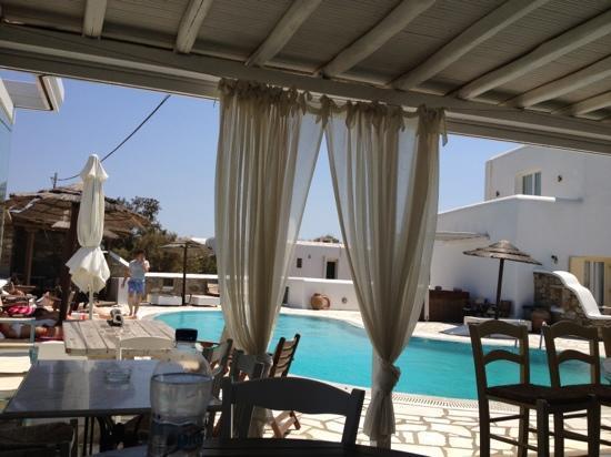 A Hotel  Mykonos: au petit déjeuner