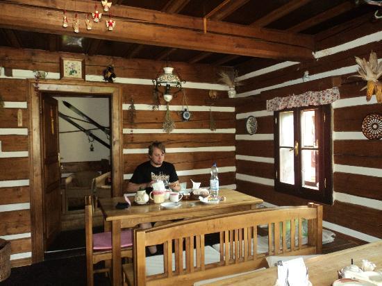 Horska Bouda Dimrovka: Frühstück im Speiseraum