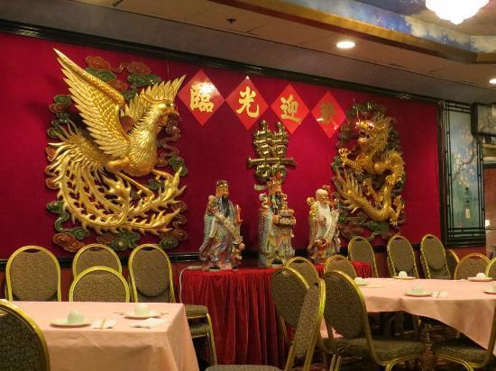 empire garden restaurant decorative wall - Empire Garden