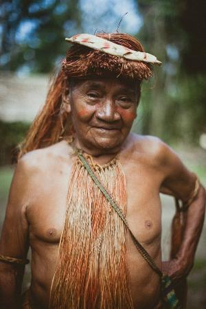 Cumaceba Amazon Lodge: Yagua tribe leader