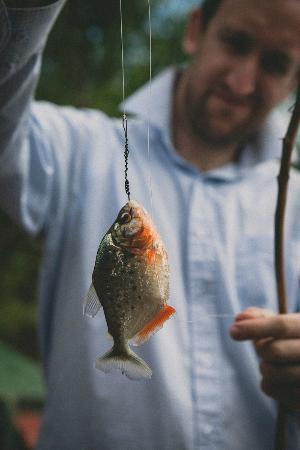 Cumaceba Lodge: Piranha fishing