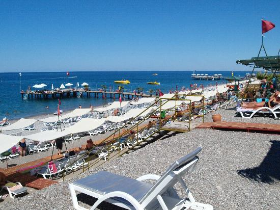 Botanik Hotel & Resort: Beach
