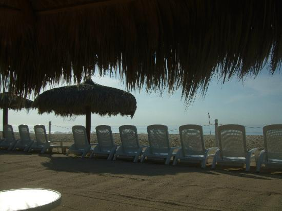 Worldmark Coral Baja: view from my beach chair