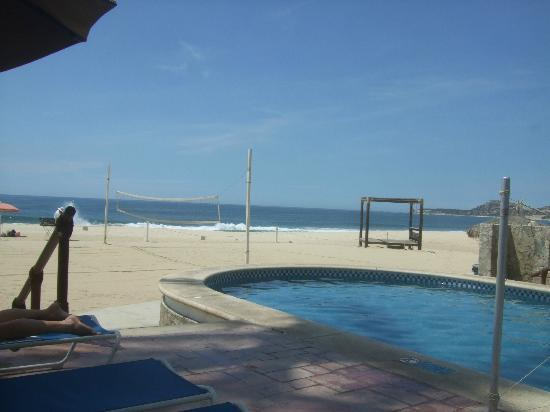 Worldmark Coral Baja: view from my lounge chair