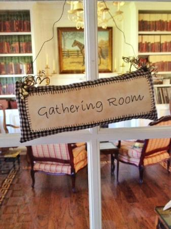 Enchanted April Inn: Gathering Room